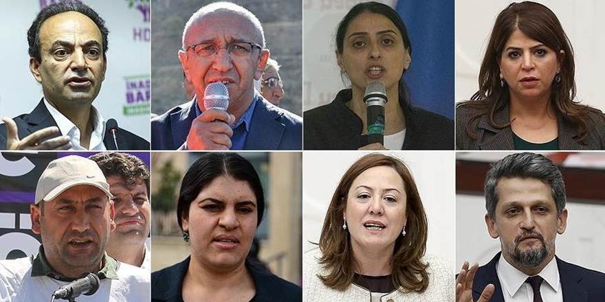 HDP'li 8 Milletvekili Hakkında Fezleke