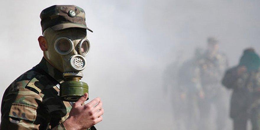 Esed ve Destekçileri Suriye'de 215 Kez Kimyasal Silah Kullandı