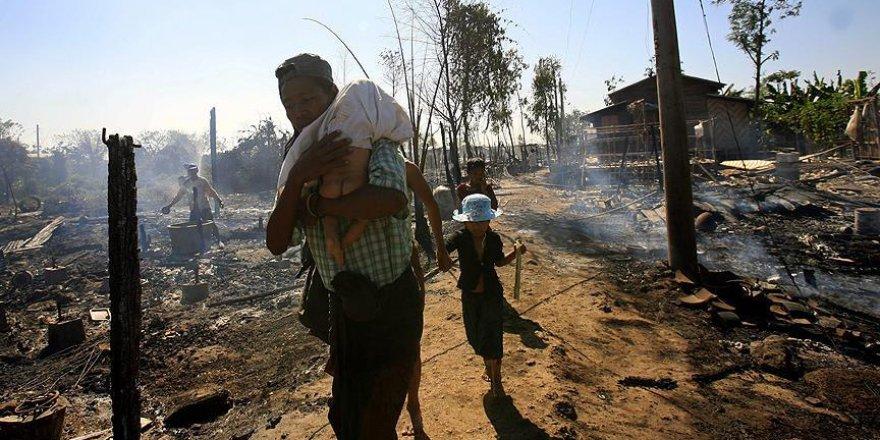'Myanmar Ordusu Arakan'da Köylerin Adını Değiştirdi'