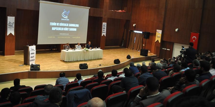 """""""Terör ve Güvenlik Sarmalına Hapsedilen Kürt Sorunu"""""""