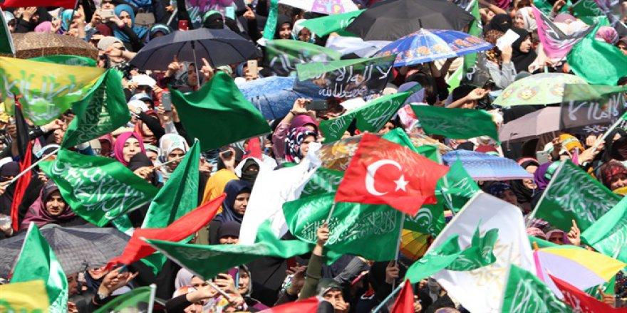 Diyarbakır'da Hz. Peygamber'i Anma Mitingi Yapıldı