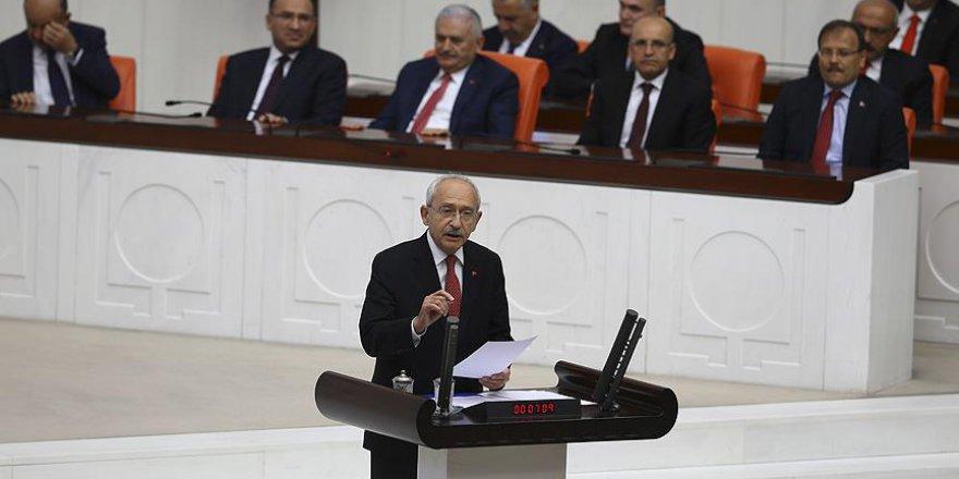 Kılıçdaroğlu'ndan CHP'nin Tarihi Unutarak Yaptığı Konuşma