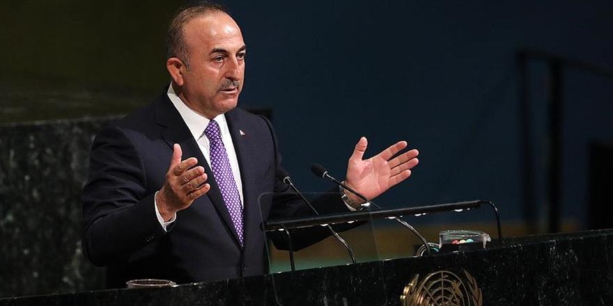 Dışişleri Bakanı Çavuşoğlu: Haklı davalarında Filistin halkının her daim yanında olacağız