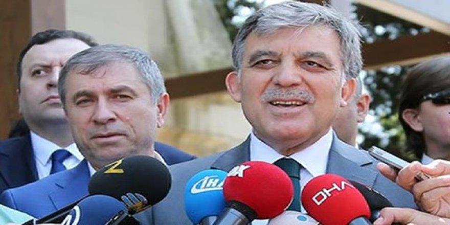 Abdullah Gül: Adaylığımla İlgili Geniş Mutabakat Oluşmadı