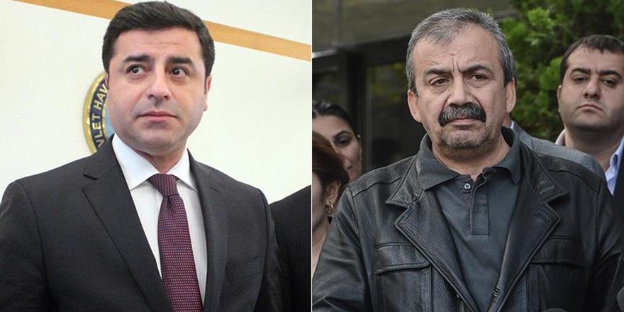HDP'li Demirtaş ve Önder Hakkında Hapis İstemi