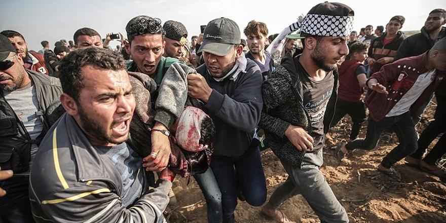 İngiltere'den Filistin'deki Ölümlere Tepki!