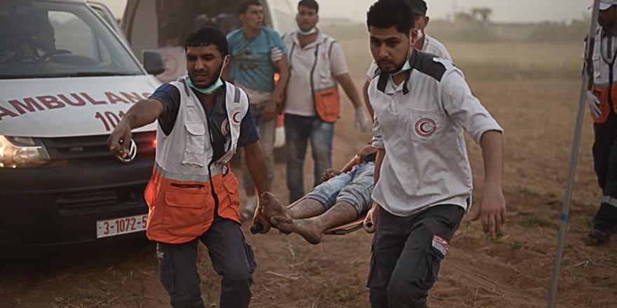 """""""Gazze'de Binden Fazla Çocuk Ciddi Şekilde Yaralandı"""""""