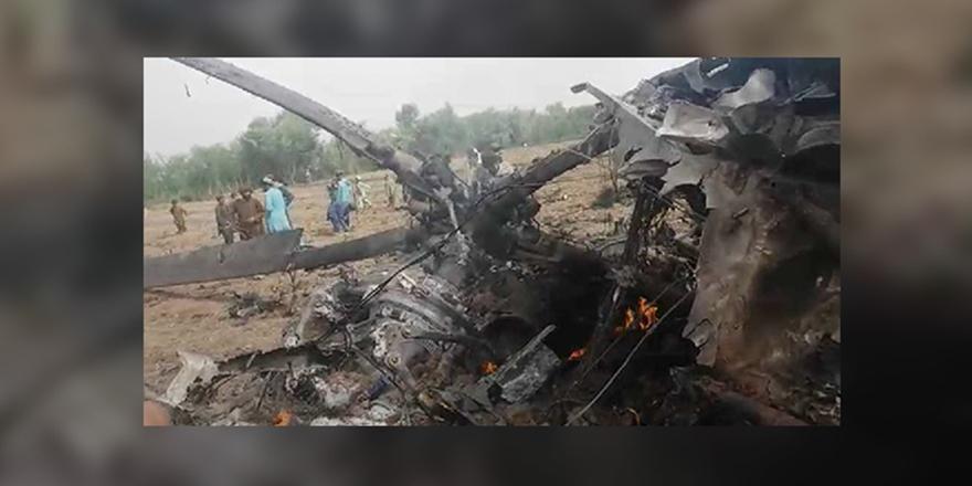 Taliban Afganistan'ın Güneyinde Helikopter Düşürdü