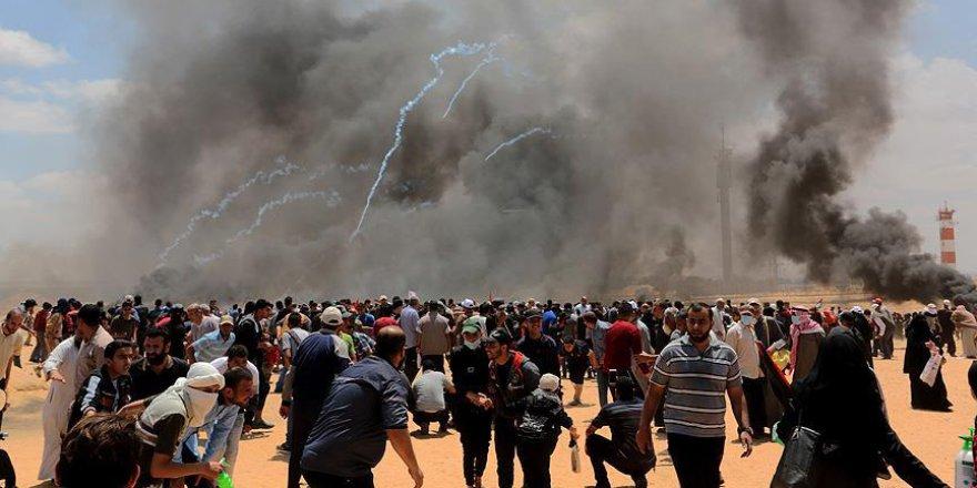 Gazze'deki Protestolarda 52 Filistinli Şehit Oldu