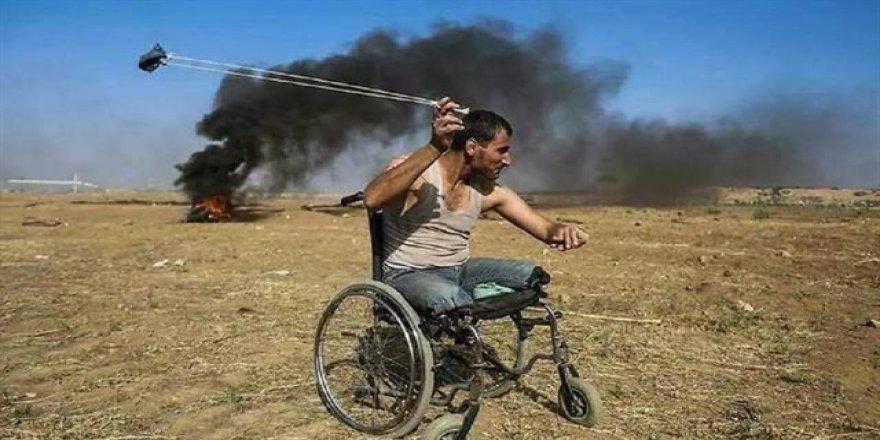 Tekerlekli Sandalyesiyle Direnen Abu Salah Şehit Oldu