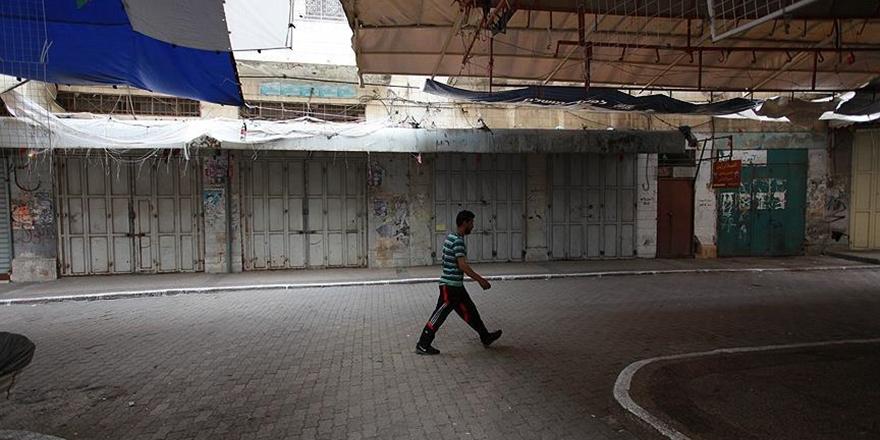 Batı Şeria'da Gazze Şehitleri İçin Genel Grev