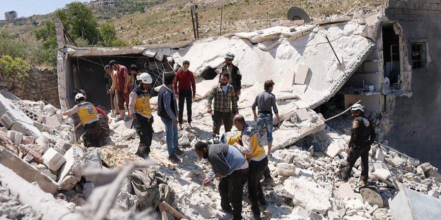 İdlib'e Hava Saldırısı: 2 Çocuk Hayatını Kaybetti