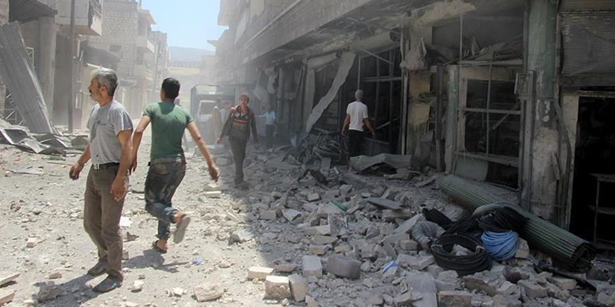 Esed Rejimi İdlib ve Hama'ya Saldırmayı Sürdürüyor!