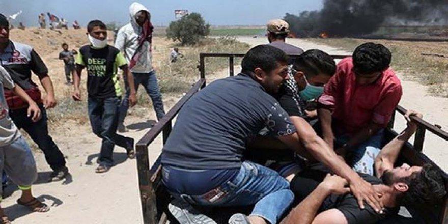 Yaralı Filistinlilerin 54'ü Bitkisel Hayatta