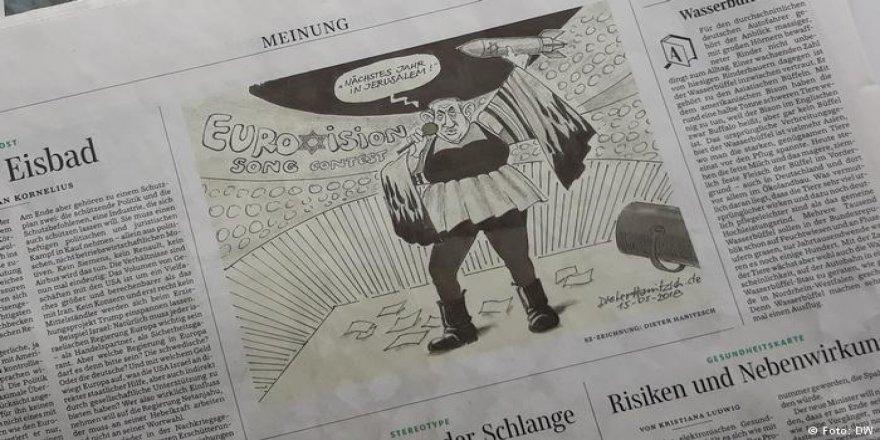Netanyahu Karikatürü İşinden Etti