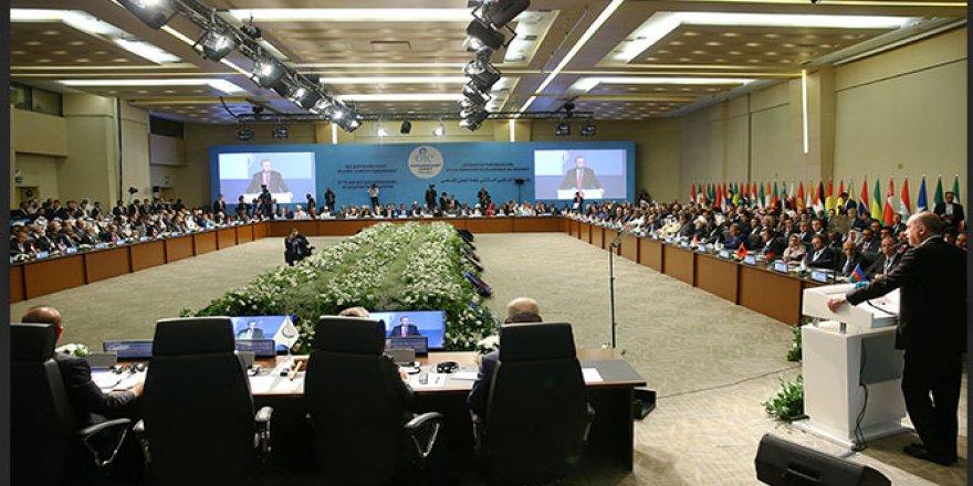 İslam İşbirliği Teşkilatı Zirvesi Sonuç Bildirgesi Kabul Edildi!