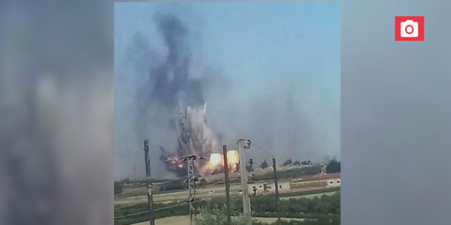 Rusya'dan Esed Üssündeki Patlamalara İlişkin Açıklama