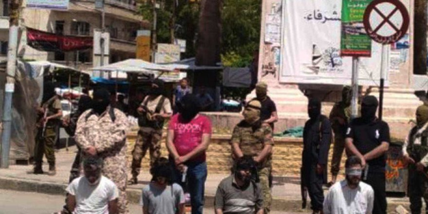 İdlib'de Patlama ve Suikast Tertip Eden 4 Kişiye İdam