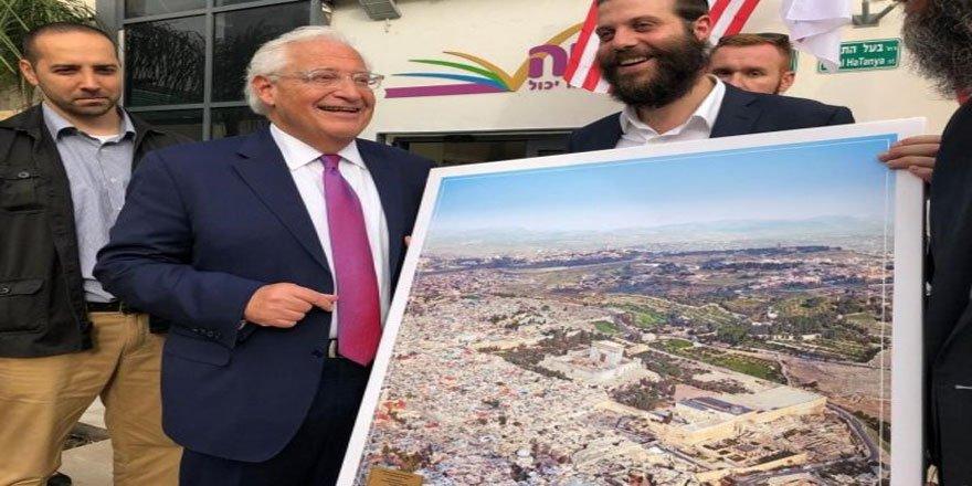 ABD'nin Büyükelçisine İçinde Mescid-i Aksa'nın Olmadığı Kudüs Tablosu