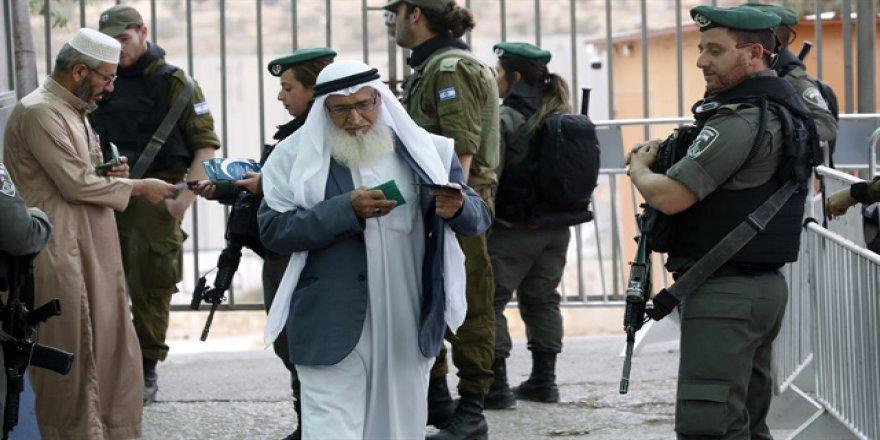 İşgalci İsrail Ramazan Boyunca Kudüs'ü Gazzelilere Yasakladı