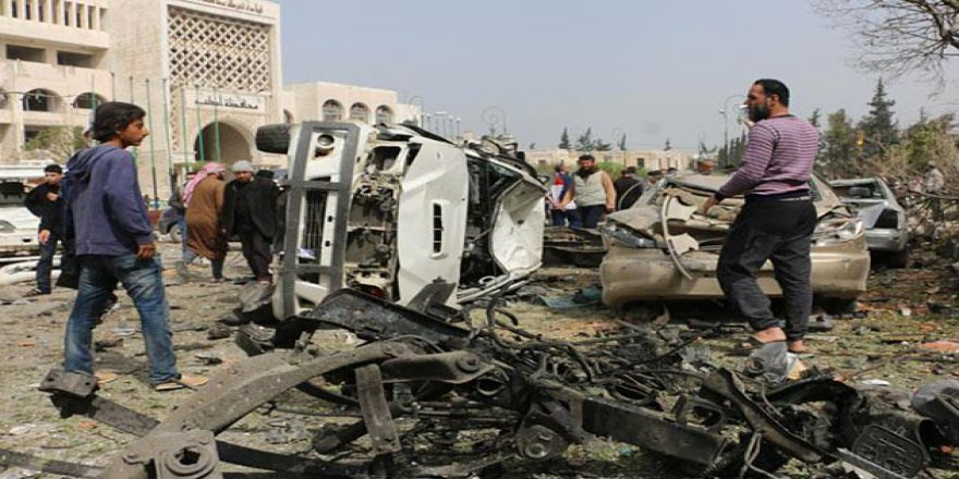 İdlib'de Bomba Yüklü Araç Saldırısı: Ölü ve Yaralılar Var