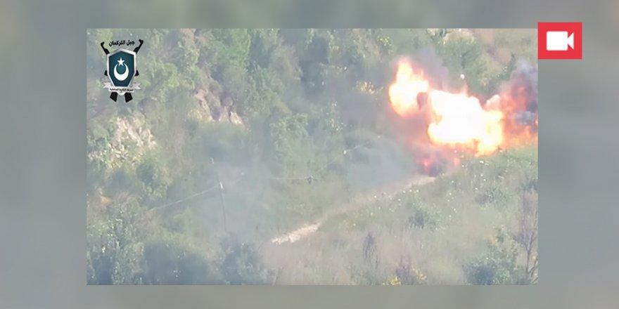 Muhaliflerden Türkmen Dağı Bölgesinde Rejim Güçlerine Saldırı