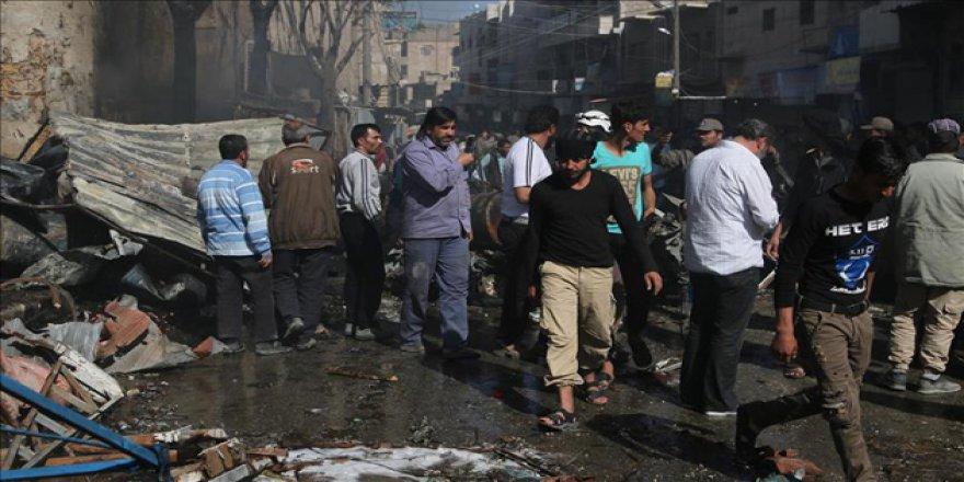 İdlib ve Cerablus'ta Patlamalar: Ölü ve Yaralılar Var