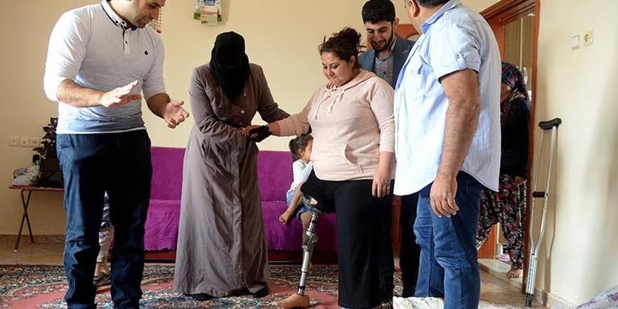Suriyeli Doktor Çiftten Kilisli Zeynep Ay'a Dostluk Eli