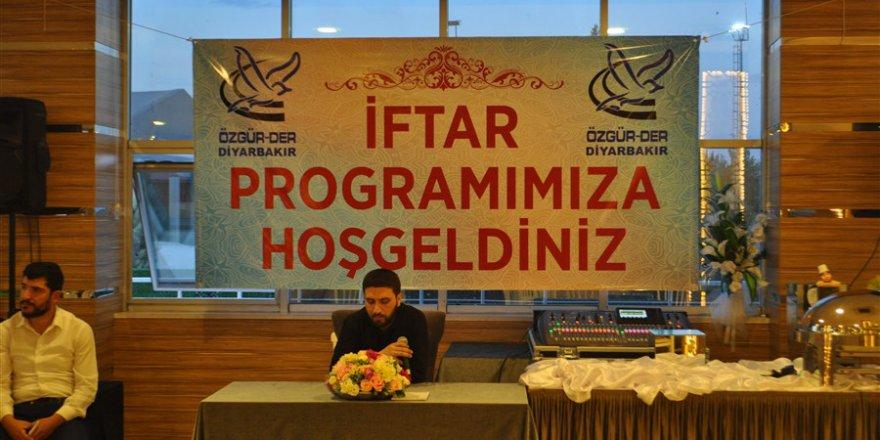 Diyarbakır Özgür-Der'den STK Temsilcilerine İftar