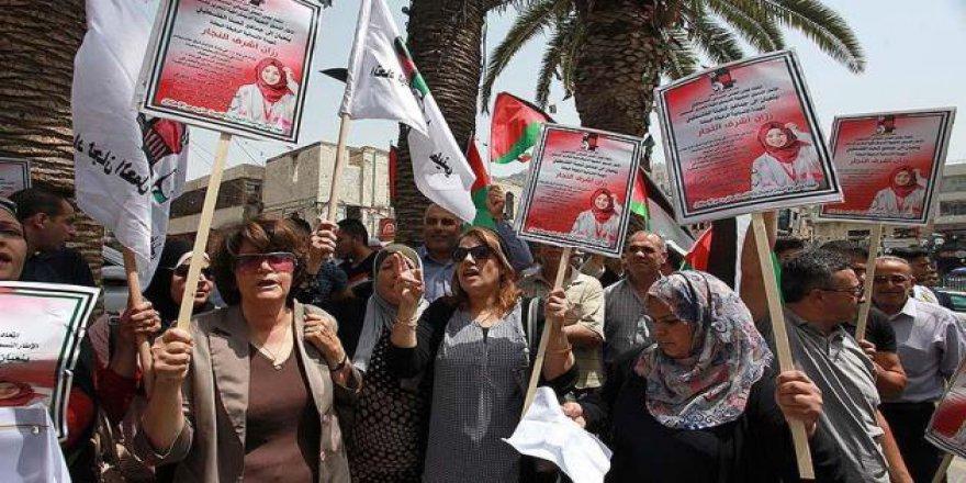 Nablus'ta Rezzan Hemşire İçin Gösteri