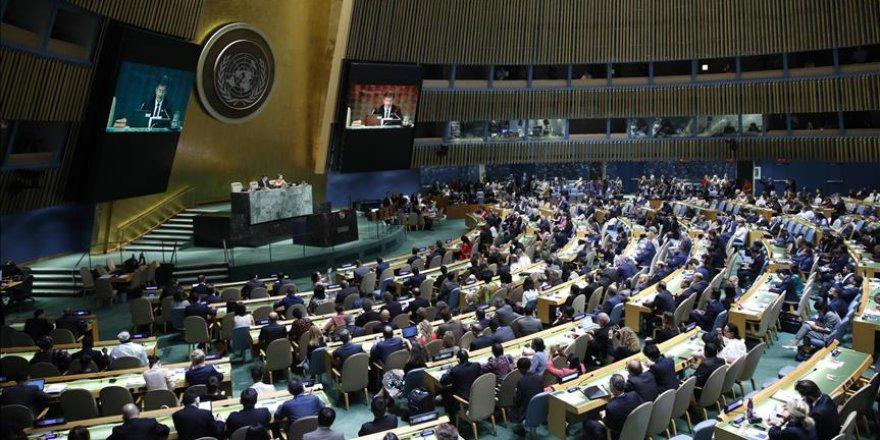 Türkiye ve Cezayir 'Filistin Tasarısını' BM Genel Kurulu'na Taşıyor