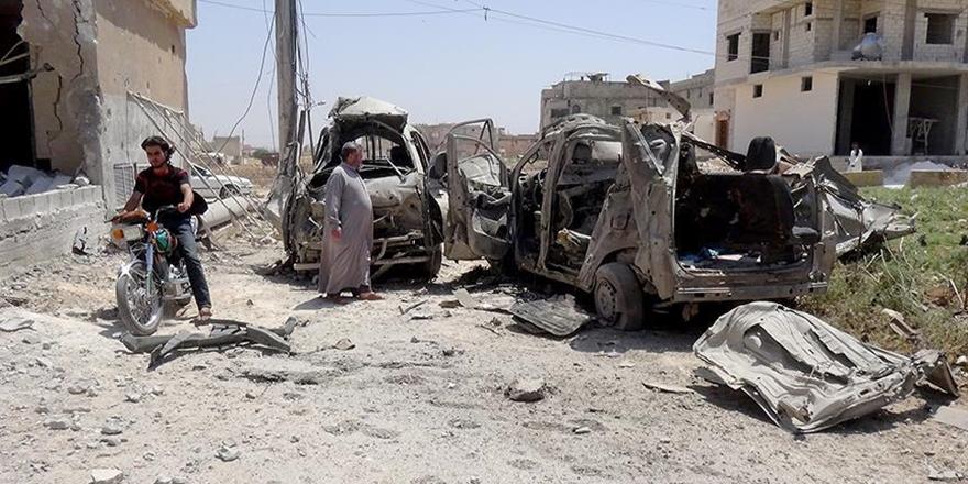 Esed Rejimi İdlib'e Saldırmayı Sürdürüyor!
