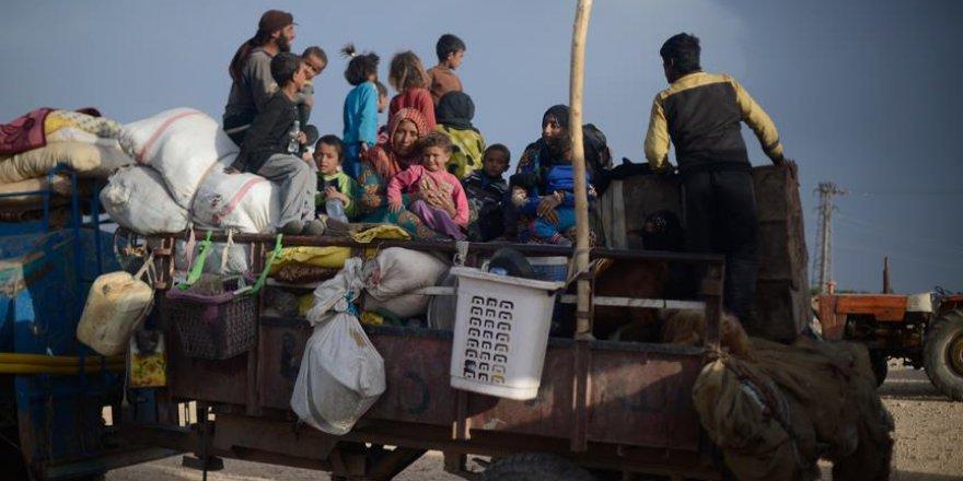 'Suriye'de 2018'de 920 Bin Sivil Yerinden Oldu'