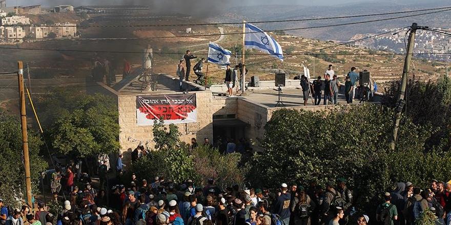 İşgalci Yahudilerden Batı Şeria'da Filistinlilere Saldırı!