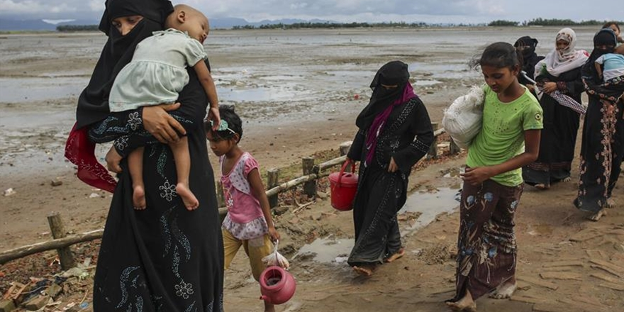 """""""11 Bin Arakanlı Muson Yağmurlarından Etkilendi"""""""