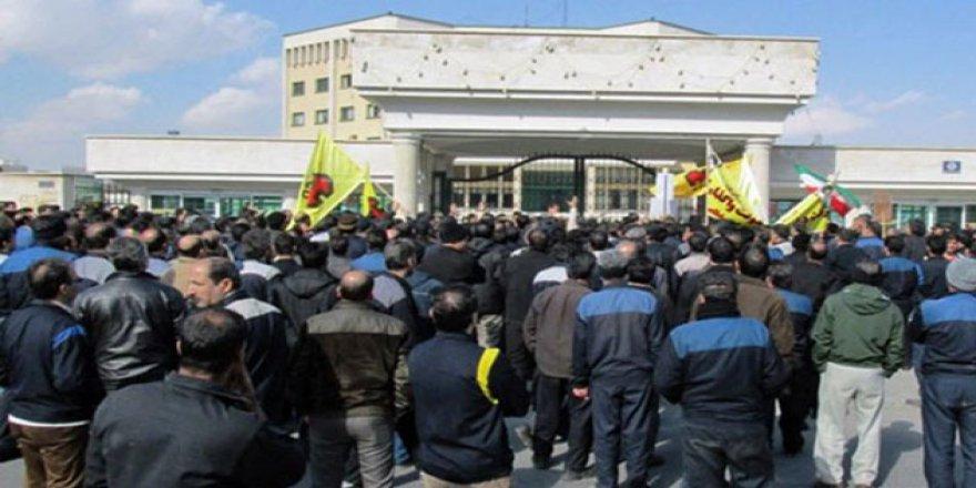 İran Rejimi Ahvaz'da 50 İşçiyi Gözaltına Aldı
