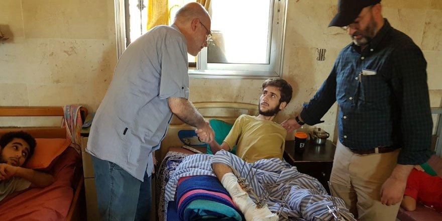 Özgür-Der Gönüllülerinden Toplanan Yardımlar Suriyeli Mazlumlara Ulaştırıldı!
