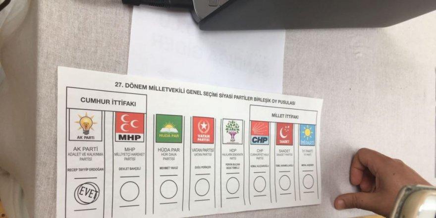 Paris'te 'AK Parti Mühürlü Oy Pusulası Skandalı' Asılsız Çıktı