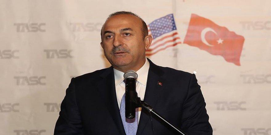 Çavuşoğlu: Münbiç'i ABD ile Birlikte İstikrara Kavuşturacağız