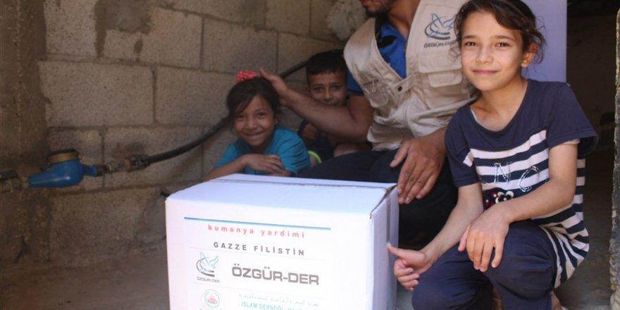 Özgür-Der Ramazan'da Gazze Halkını Unutmadı