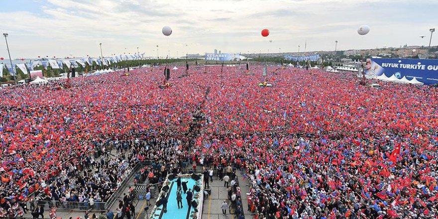 Büyük İstanbul Mitingi Yenikapı'da Yapıldı