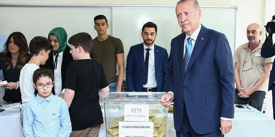 Cumhurbaşkanı Erdoğan'ın Oy Kullandığı Sandıkta Sonuç Belli Oldu