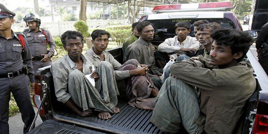 Arakanlı Müslümanların Dramı Tayland'da da Sürüyor
