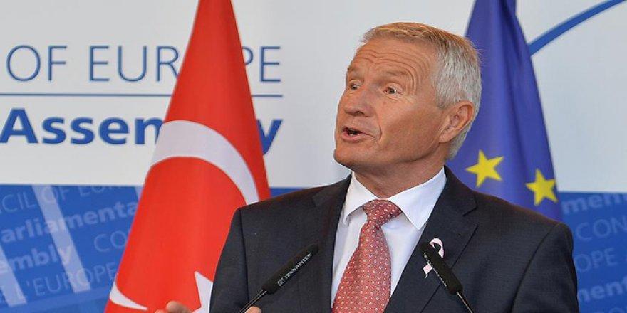 Avrupa Konseyi'nden Erdoğan'a Kutlama