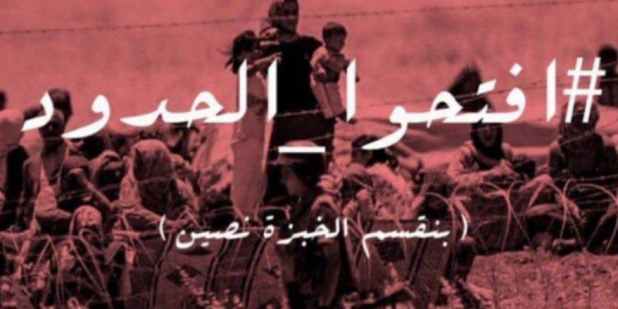 """Ürdün Halkından Hükümete """"Sınırları Açın"""" Çağrısı!"""