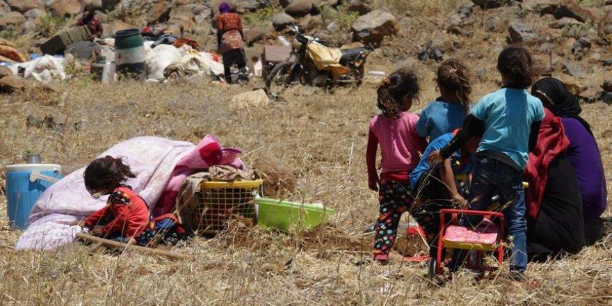 Dera'dan Göç Edenlerin Sayısı 200 Bine Yaklaştı