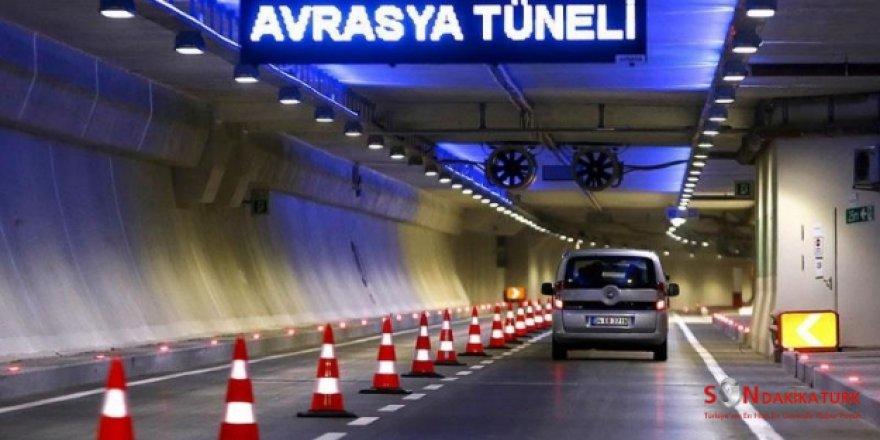 Avrasya Tüneli Şüpheli Paket İhbarı İle Trafiğe Kapatıldı