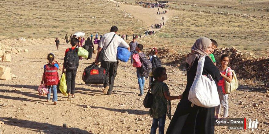 Suriye-Ürdün Sınırına Sıkışmış Deralıların Dramı