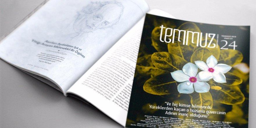 Temmuz Dergisinin 24. Sayısı Çıktı