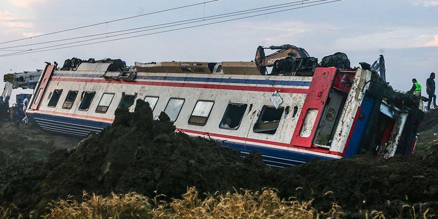 Tekirdağ'daki Tren Kazasında Ölü Sayısı 24'e Yükseldi